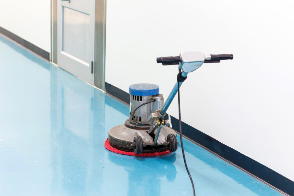 Cleaning in Cardiff Floor Maintenace